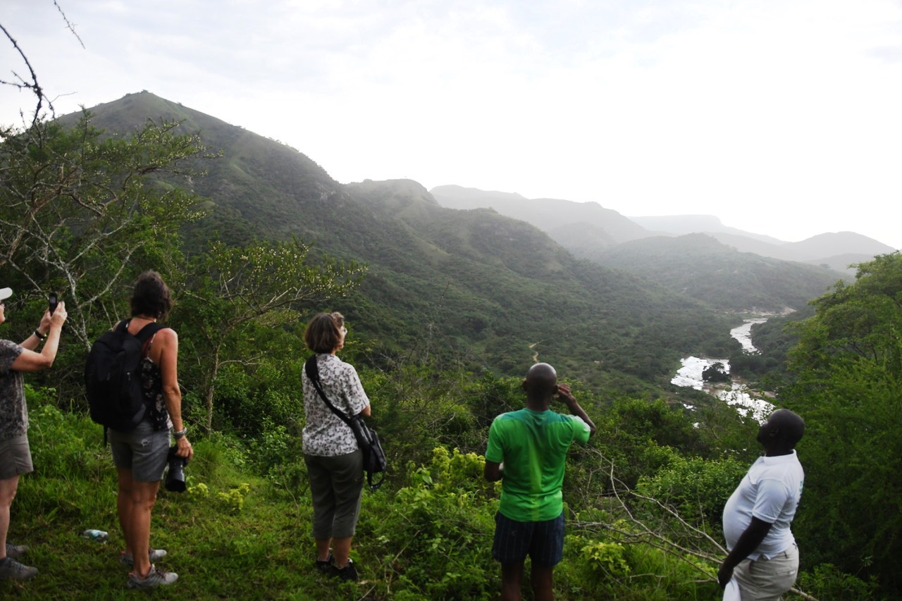 View along the Umgeni River valley. Photo courtsey of Hilary McLernan