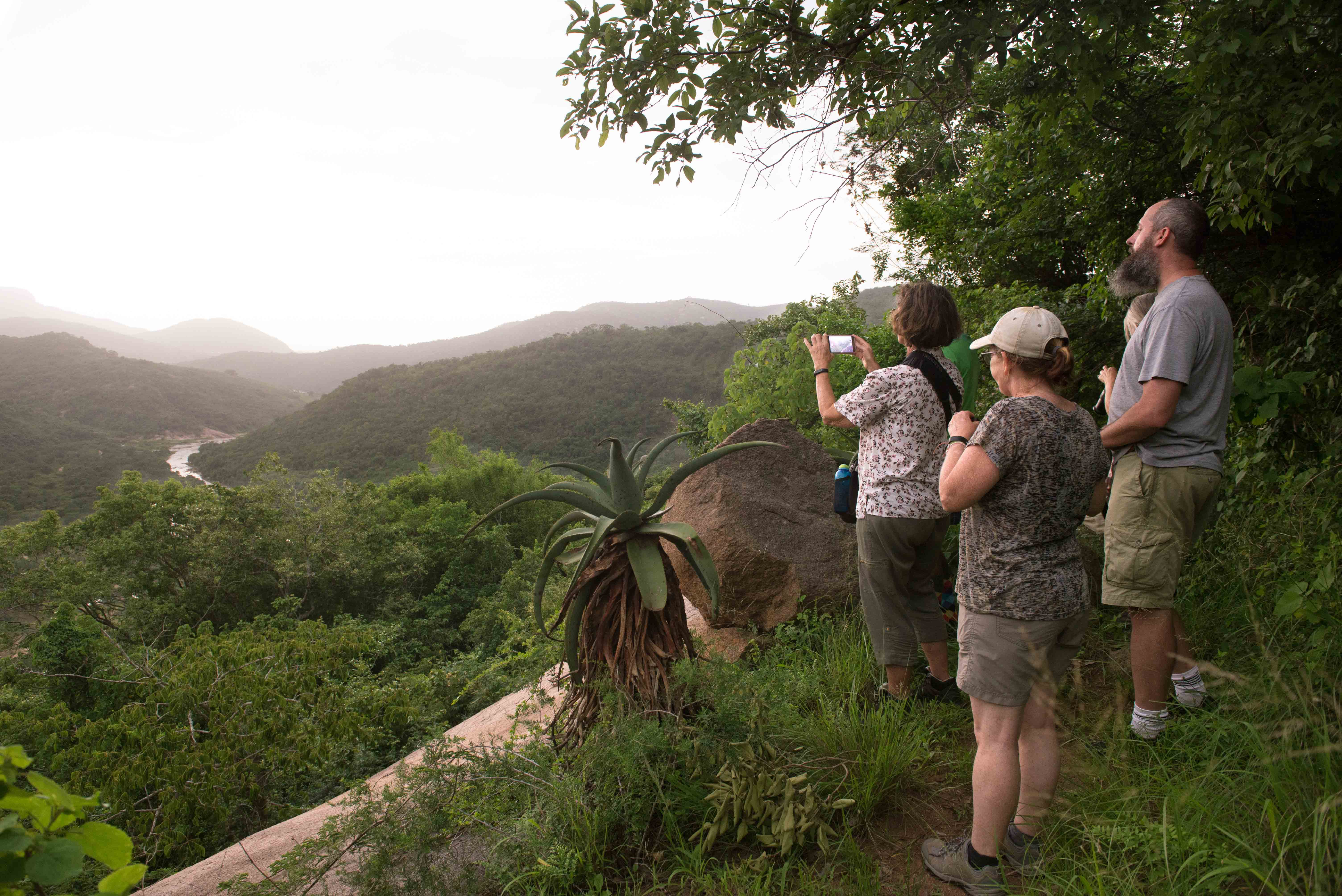 Umgeni River valley view . Photo courtsey of Val Adamson