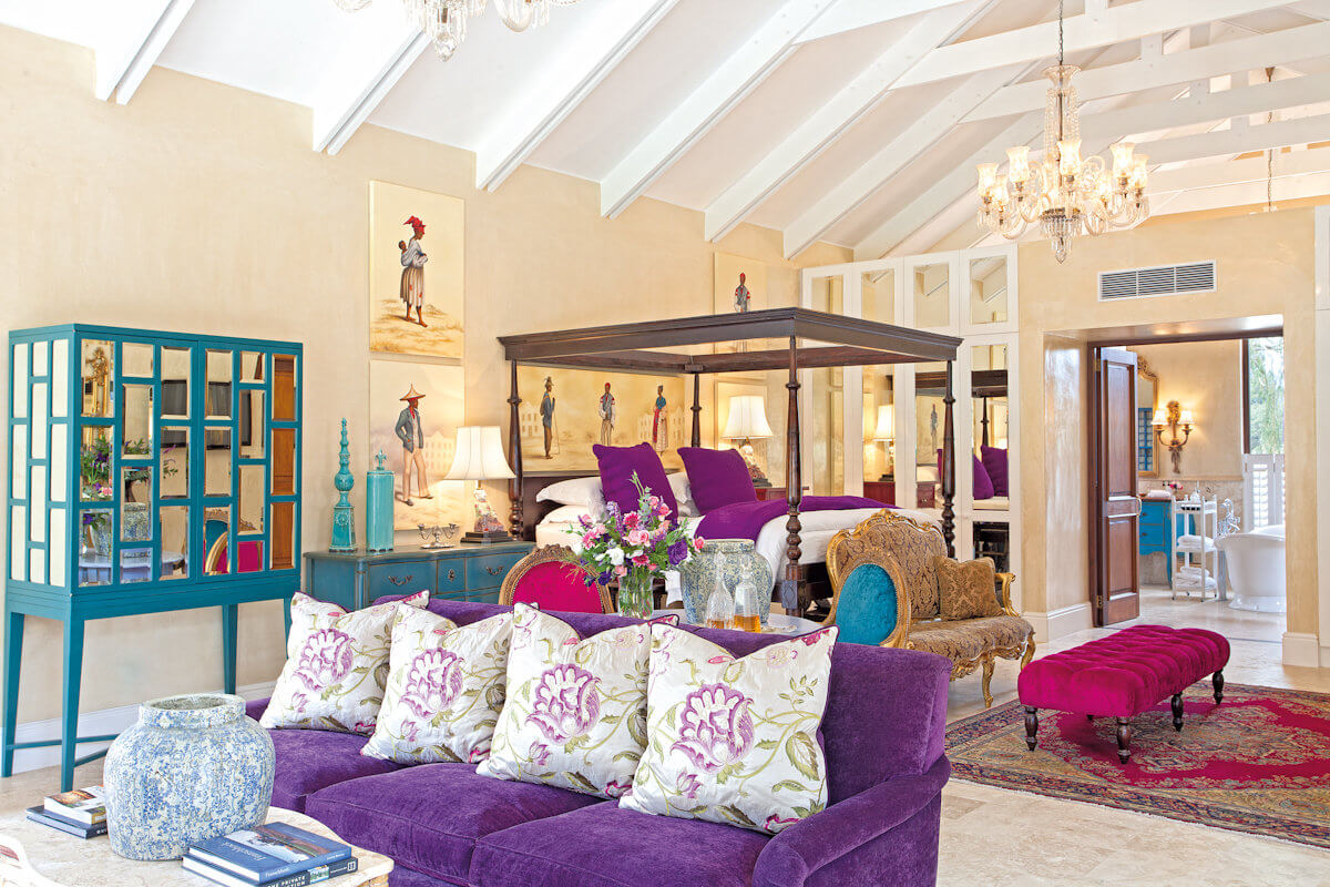 Vineyard Suite interior. Photo courtesy of The Royal Portfolio
