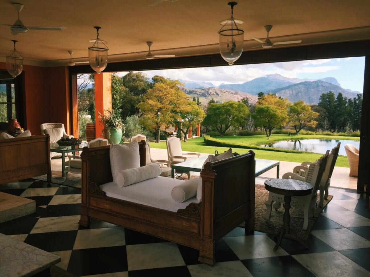 The Loggia. Photo courtesy of The Royal Portfolio
