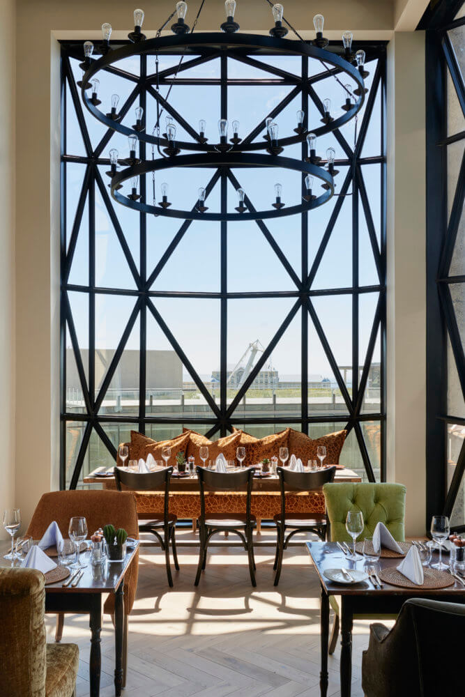 The Granary dining. Photo courtesy of The Royal Portfolio