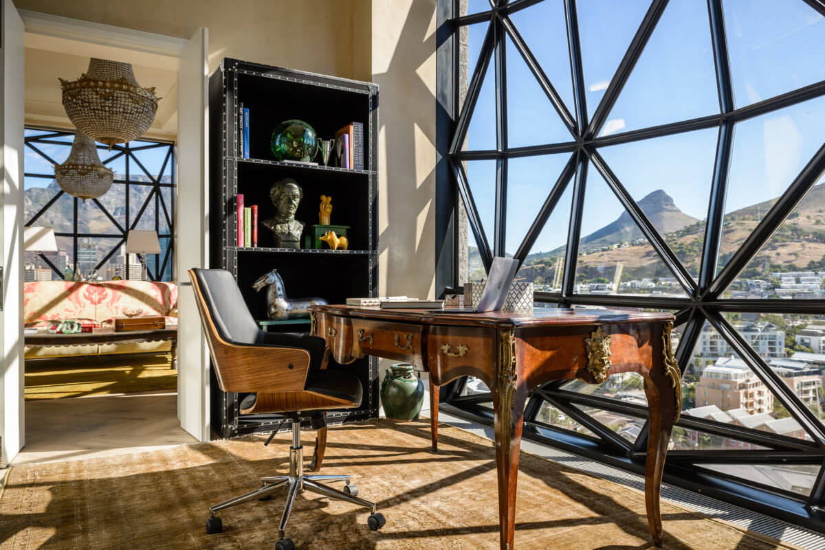 Study in Penthouse bedroom. Photo courtesy of The Royal Portfolio